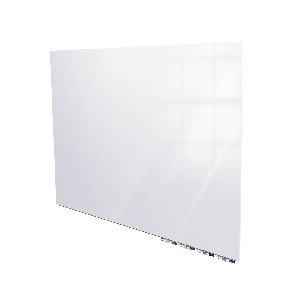Ghent Aria Low Profile Glass Whiteboard - 3' H x 4' W