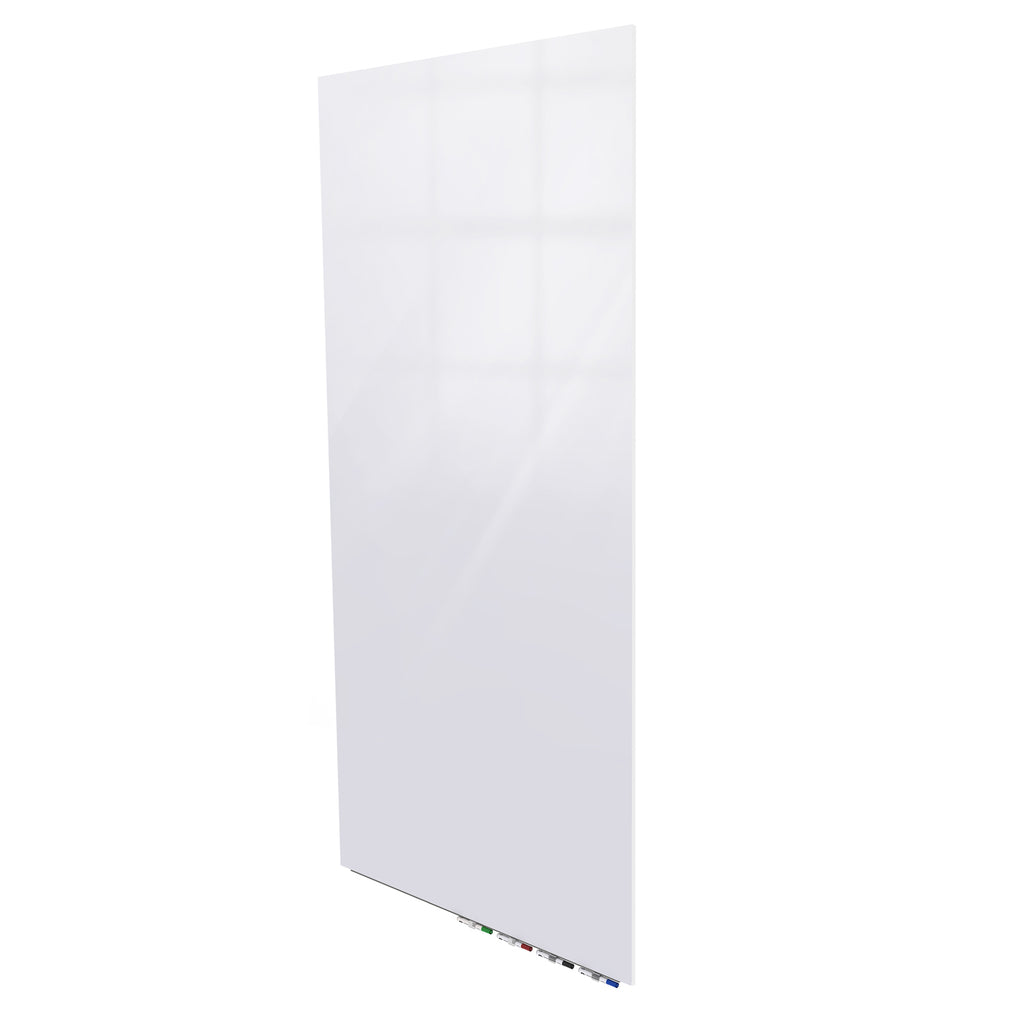 Ghent Aria Low Profile Glass Whiteboard - 6' H x 4' W