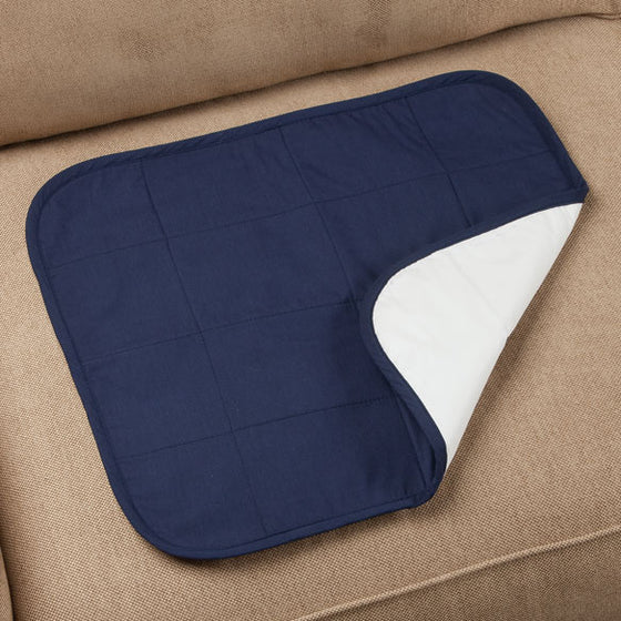 Quilted Waterproof Seat Protector, Navy - Navy