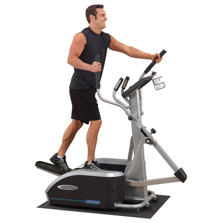 Adjustable Stride Light Commercial Elliptical