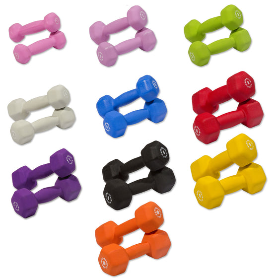 Body-Solid Neoprene-Coated Dumbbell Set