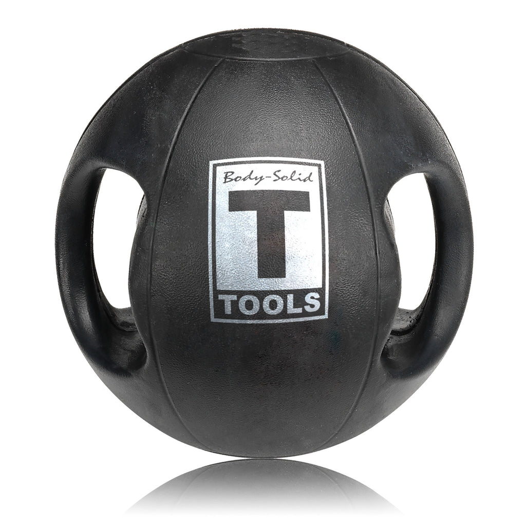 Dual Handled Medicine Ball