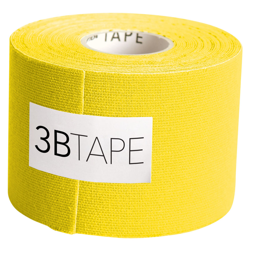 "3BTape Kinesiology Tape 2"" x 16' - Yellow"