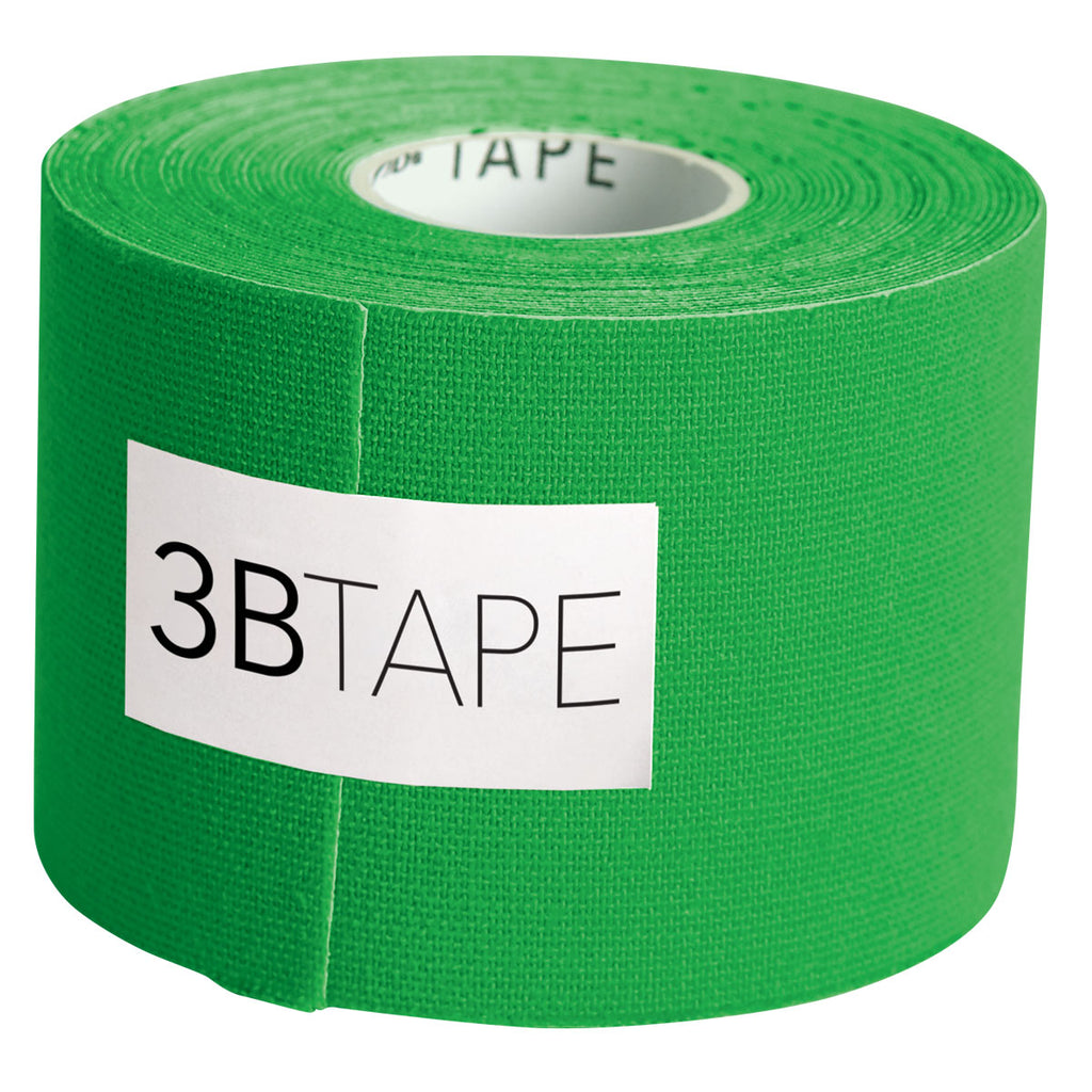 "3BTape Kinesiology Tape 2"" x 16' - Green"