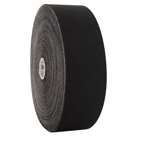 "3BTape Kinesiology Tape Bulk Roll 2"" x 103' - Black"