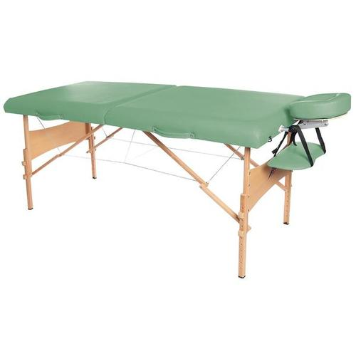 Deluxe Portable Massage Table - Green