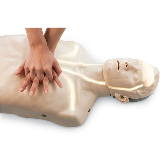 Brayden CPR Training Manikin White Indicator Lights