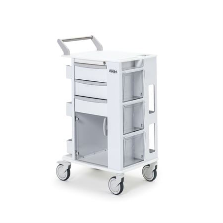 "Insight Ergo Phlebotomy Cart with 5"" Casters"