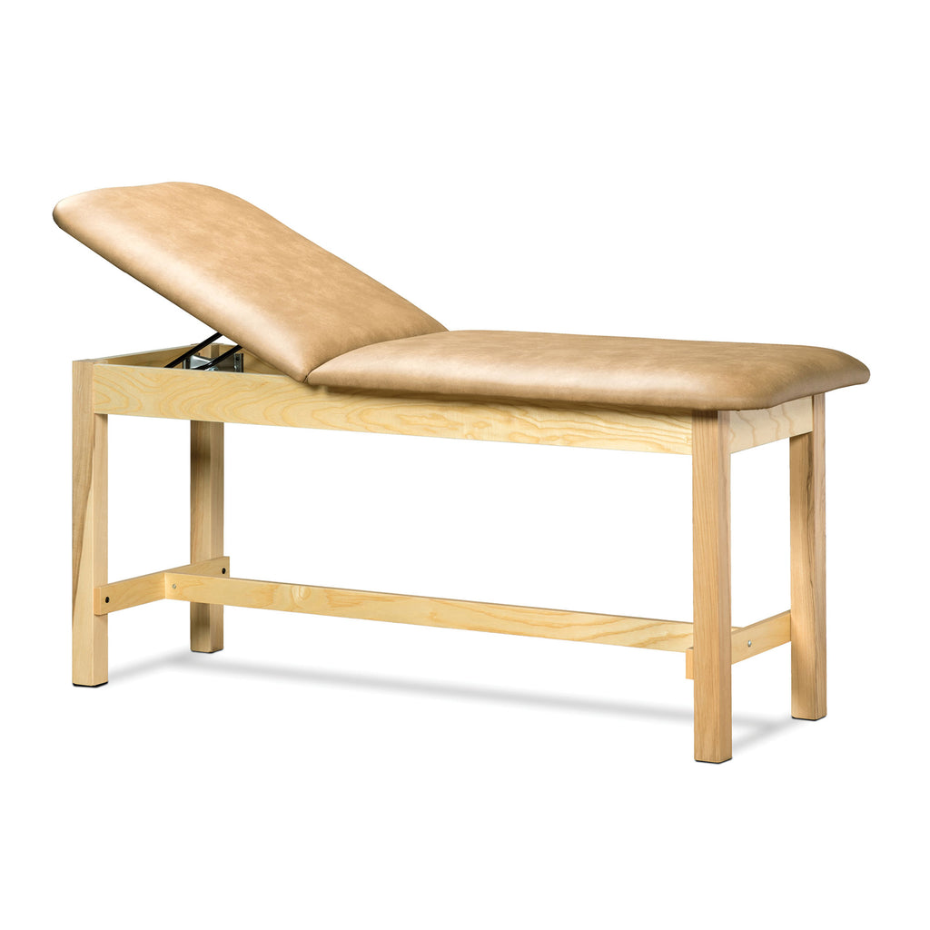 Classic Series Treatment Table with Adjustable Backrest