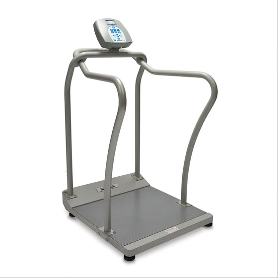 Health o meter 2101KL Large Platform Digital Scale with Handrails