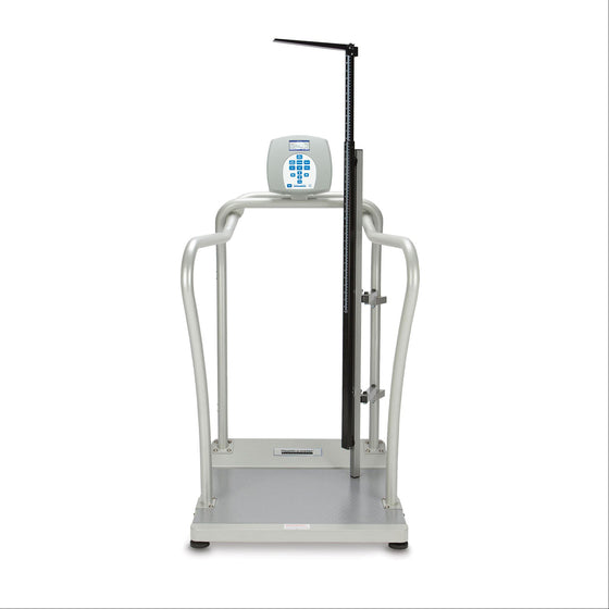 Health o meter 2101KLHR Large Platform Digital Scale with Height Rod