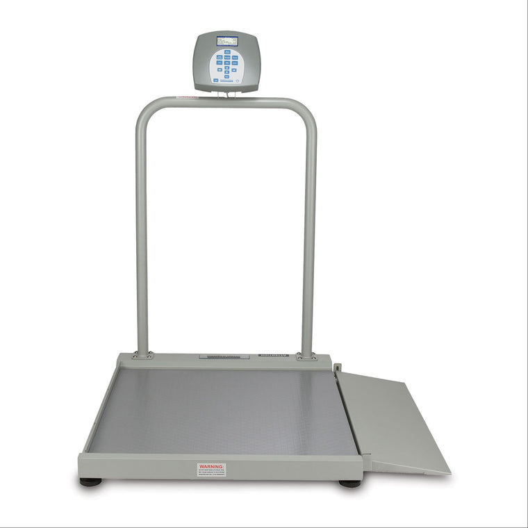 Health o meter 2500KL Digital Wheelchair Scale with Handrails