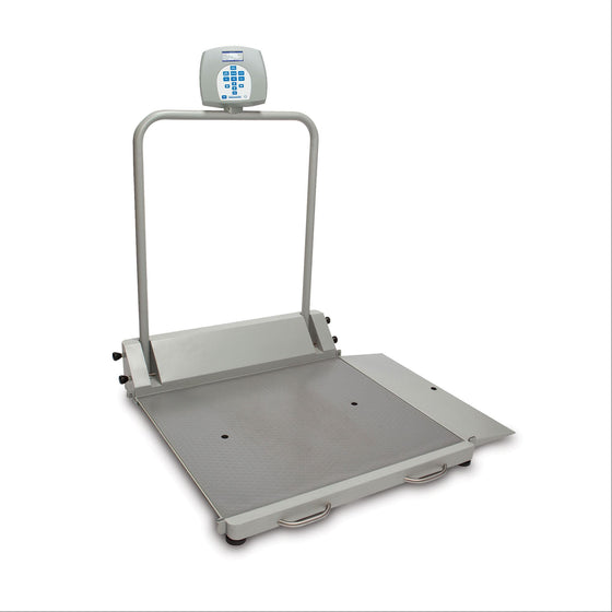 Health o meter 2600KL Digital Wheelchair Scale - Portable/Folding with 1 Ramp