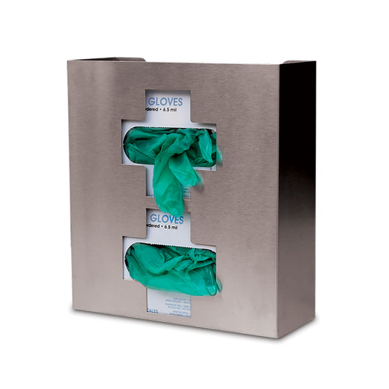 Medical Cross Stainless Steel Glove Box Holder