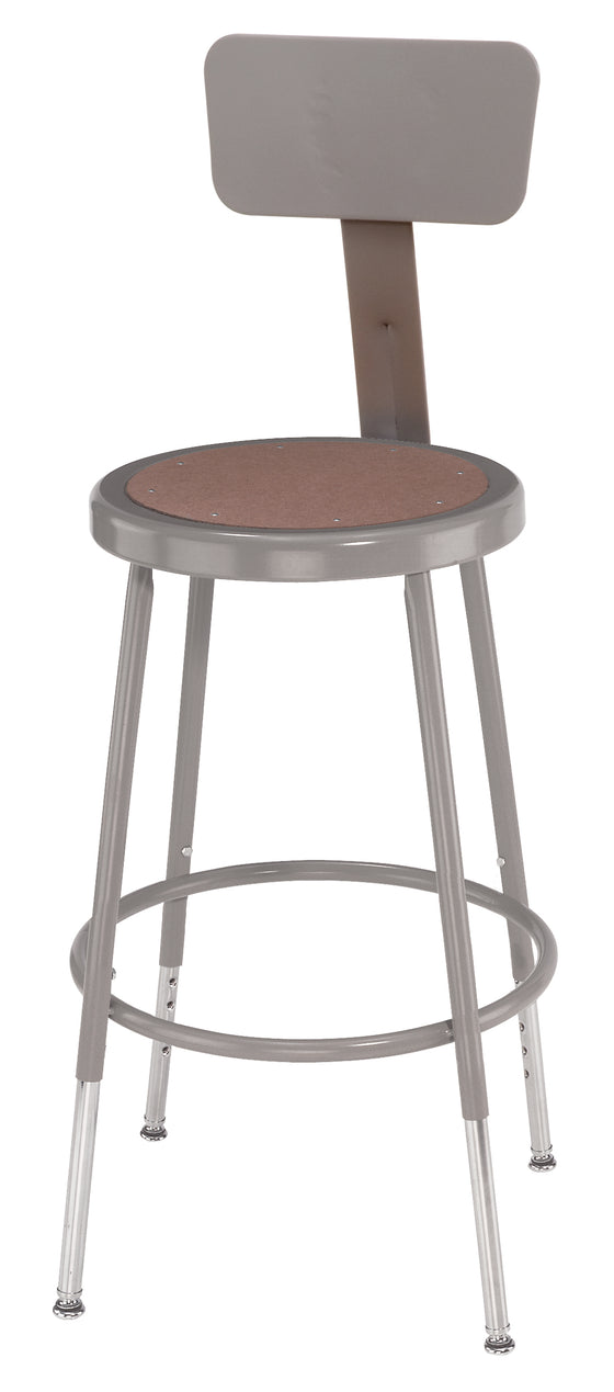 "19""-27"" Height Adjustable with Backrest"