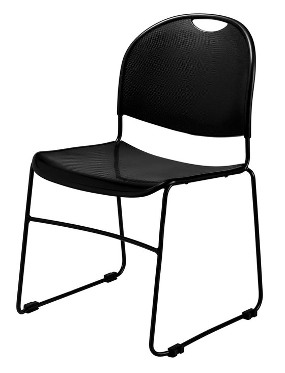 850 Multi-Purpose Ultra Compact Stack Chair Black