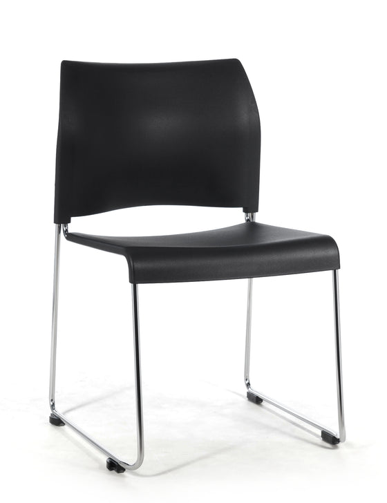 8800 Series Cafetorium Stack Chair Black