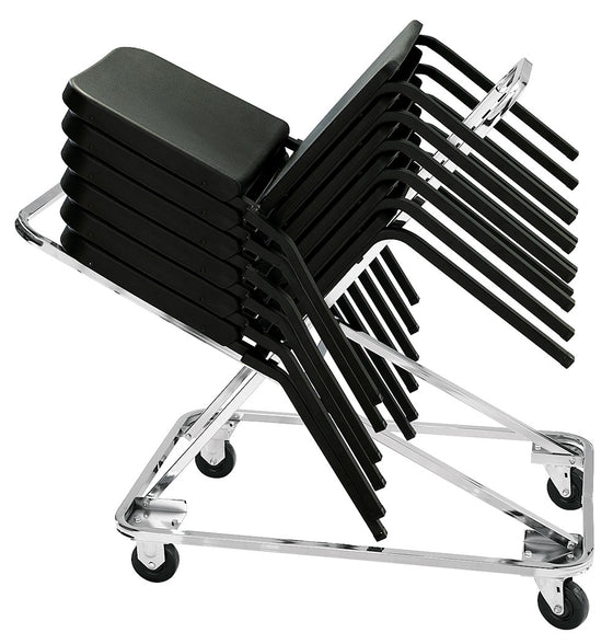 Dolly for 8200 Series Chairs, Chrome Frame