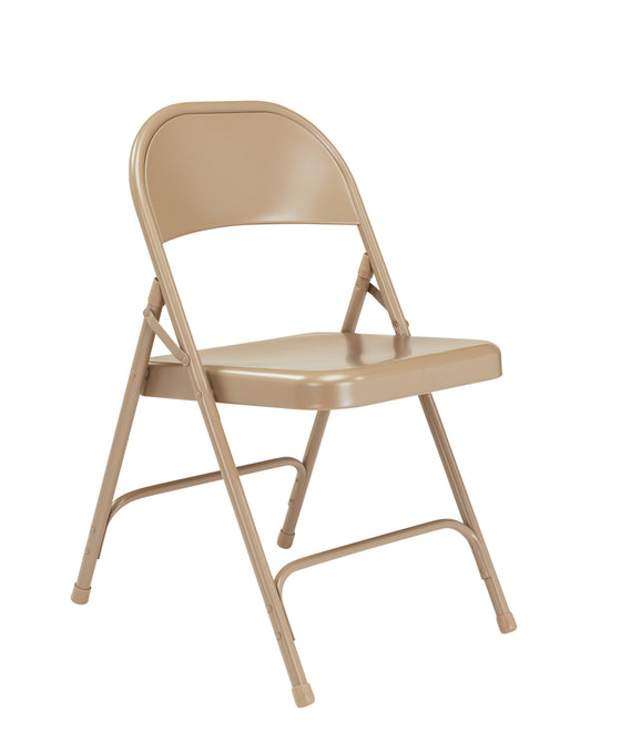 50 Series All-Steel Folding Chair Beige