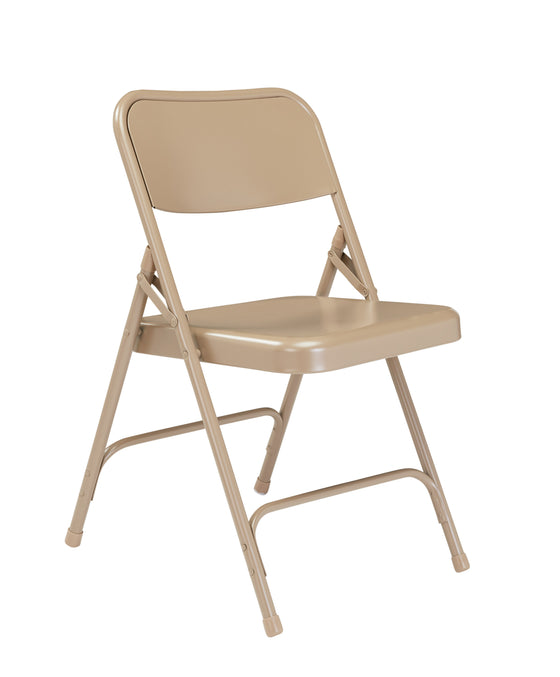 200 Series Premium Folding Chair Beige