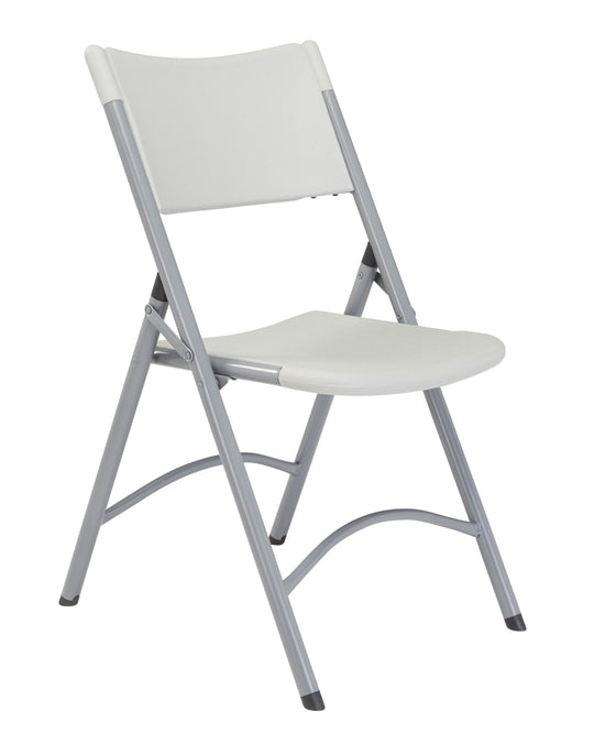 600 Series  Plastic Folding Chair Speckled Grey