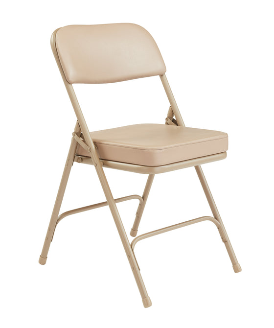 "3200 Series Premium 2"" Folding Chair Beige"
