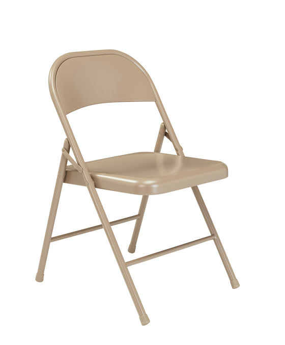 900 Series All-Steel Folding Chair Beige Surface