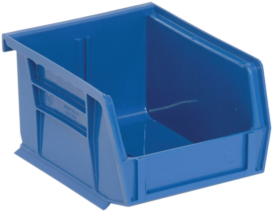 "Quantum QUS200 Ultra Stack and Hang Bin 5"" x 4-1/8"" x 3"" - Blue"