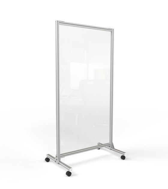 Clear Mobile Workspace Divider