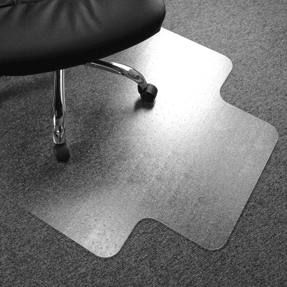 Advantagemat Vinyl Lipped Chair Mat for Carpets up to 3/8""
