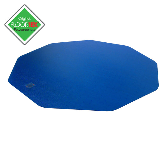 9Mat Polycarbonate 9-Sided Chair Mat for Carpets up to 1/2""
