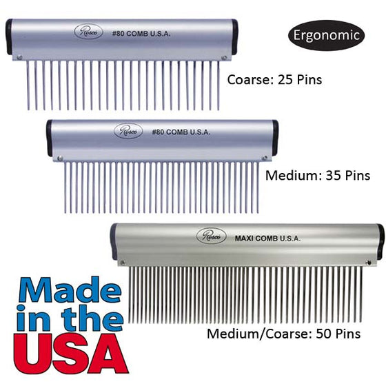 RS Ergonomic Comb Med/Coarse