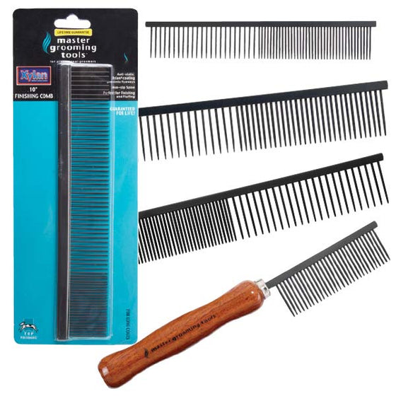 Master Grooming Tools Xylan Pet Grooming Combs