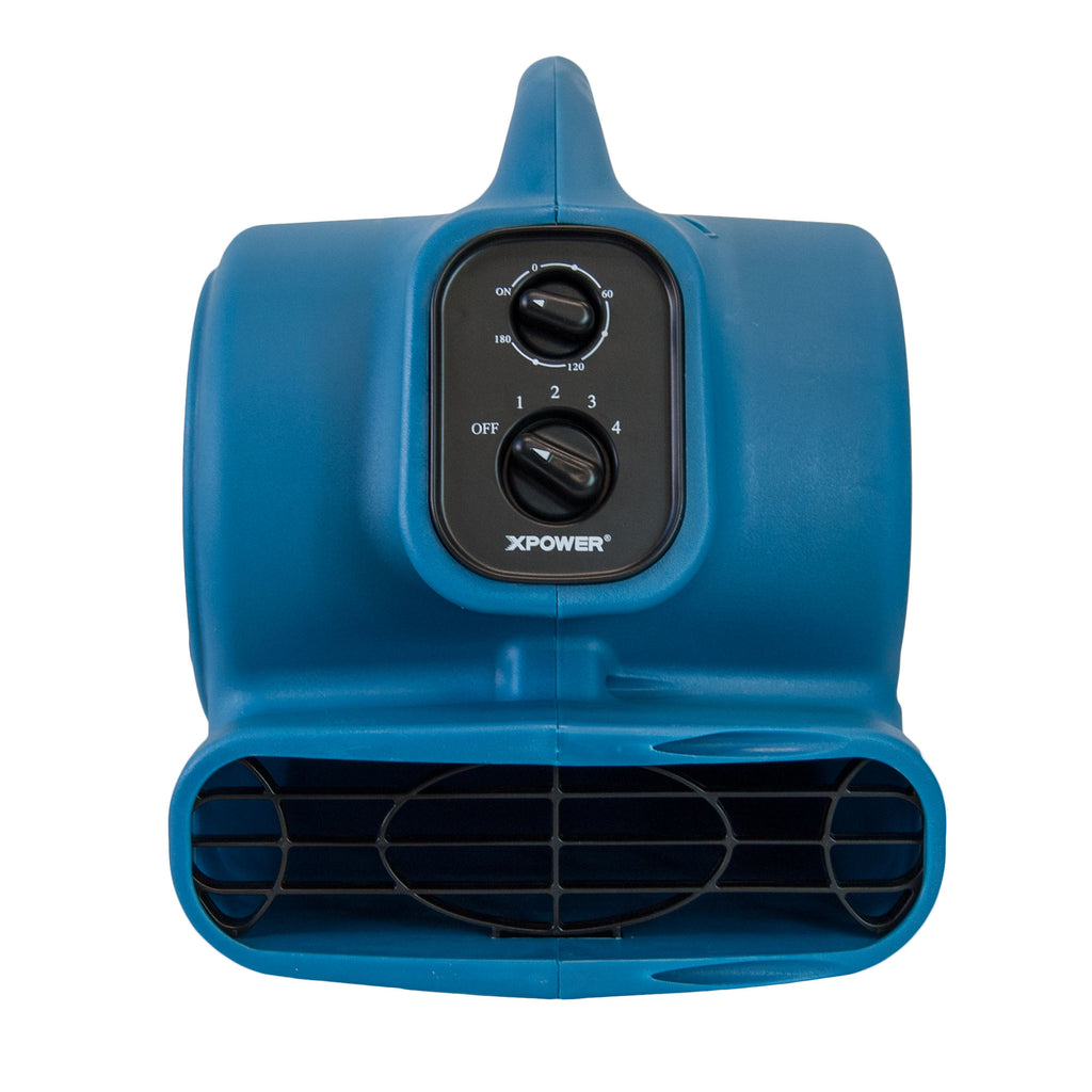 XPOWER Freshen Aire 1/5 HP 4 Speeds Scented Air Mover with Timer and Power Outlets