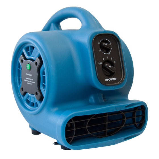 XPOWER Freshen Aire 1/5 HP 4 Speeds Scented Air Mover with Ionizer and Timer