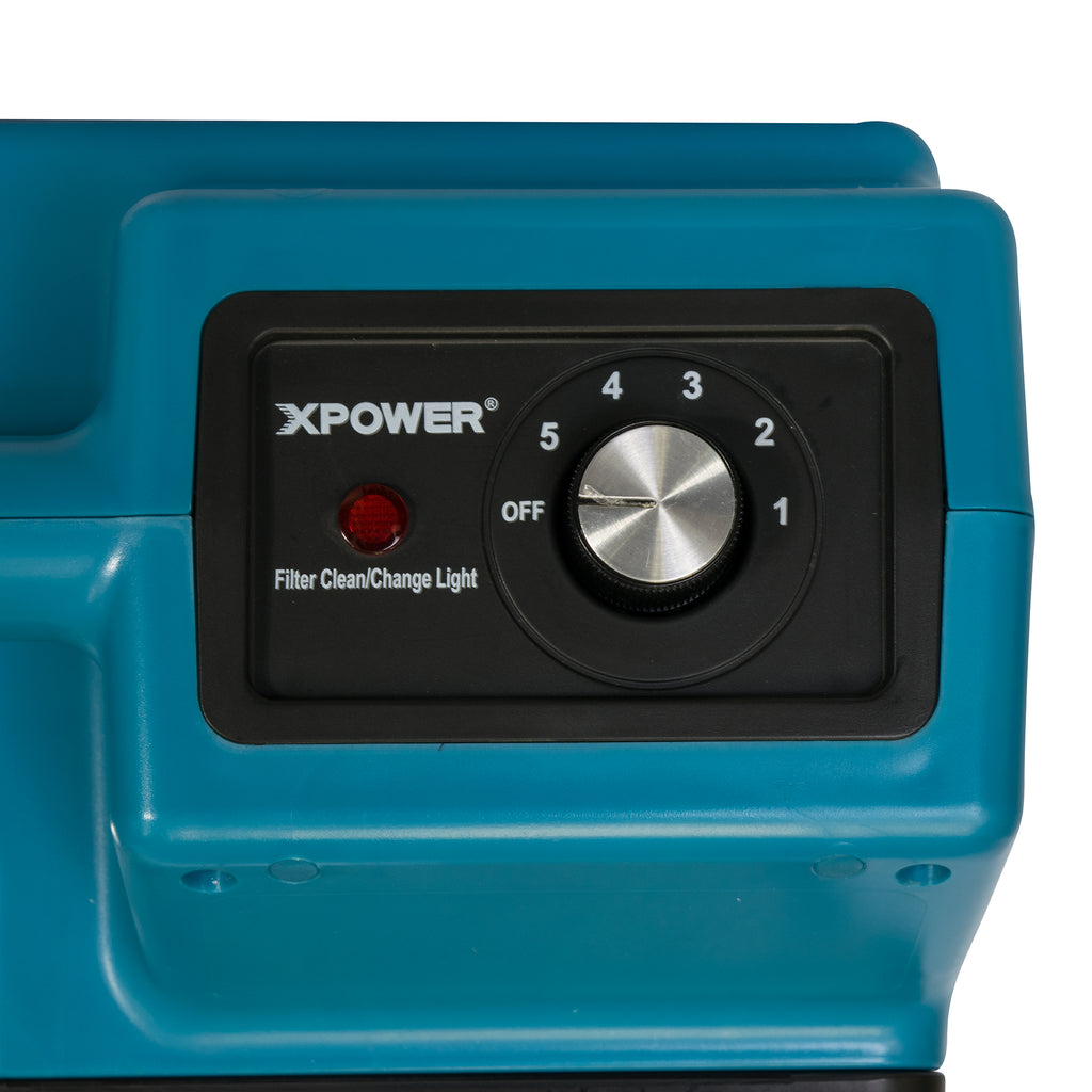 XPOWER Commercial 4 Stage Filtration HEPA Purifier System Mini Air Scrubber