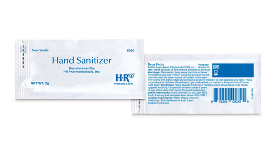 Individual Hand Sanitizer Packets - 36 per pack