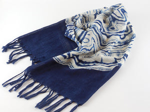 Load image into Gallery viewer, Koso-en Natural Indigo Dyed Itagime