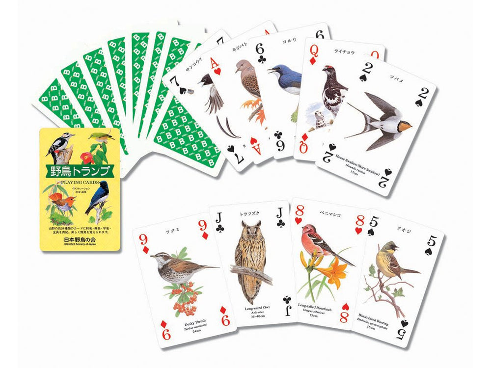 Load image into Gallery viewer, WBSJ Bird Playing Cards