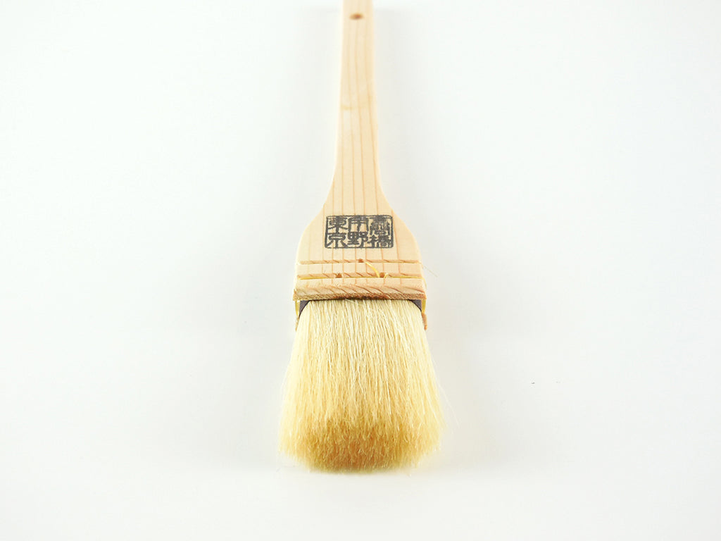 Uno Hake Brush for cooking (horse hair / goat hair)