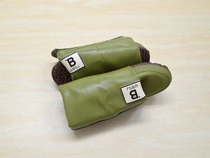 Folded Boots (Mejiro/ Lime)