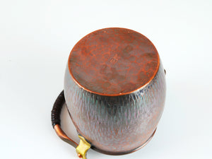Nagasawa Copper tea pot - Tricolour