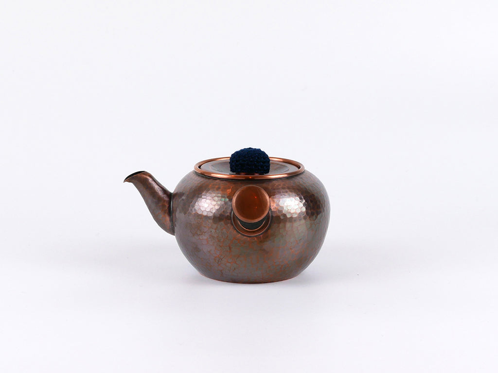 Nagasawa Copper tea pot - Circle hammer pattern
