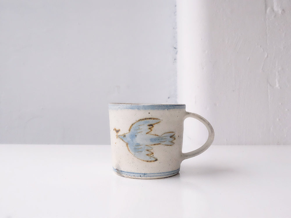 Load image into Gallery viewer, Bird Design Mug by Takahiro Manome