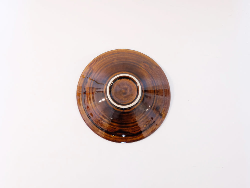 Load image into Gallery viewer, Small Caramel Glazed Bowls by Aya Kondo