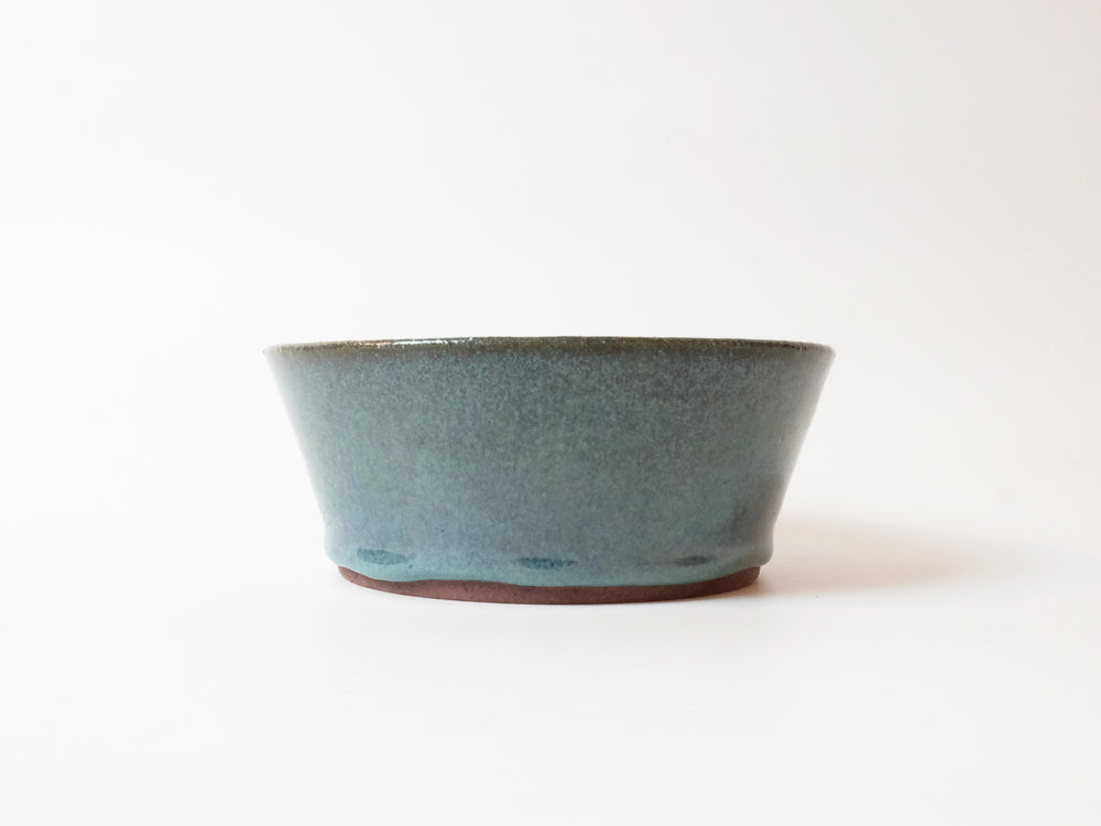 Blue Soup Bowl by Motoharu Ozawa