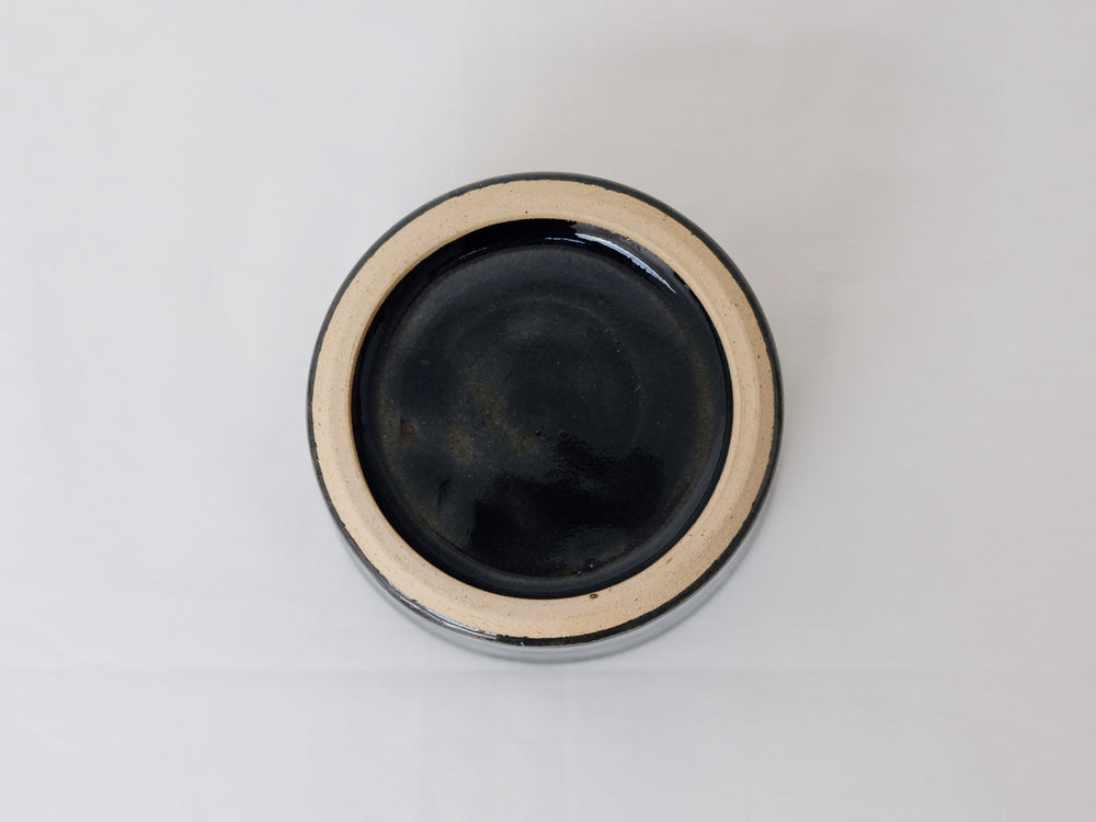 Load image into Gallery viewer, Round Sided Indigo Glaze Bowls by Shussai-gama