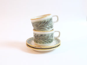 Laur Series Cup and Saucer Set by Mishio Suzuki