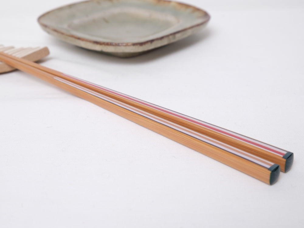 Matsukan Chopsticks Bamboo Stripes