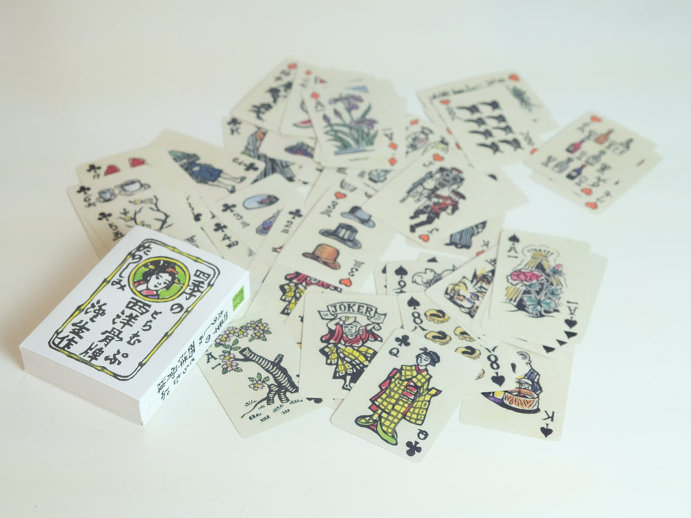 Load image into Gallery viewer, Sumio Kawakami four seasons playing cards
